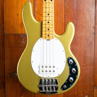 Music Man Sting Ray Bass ErnieBall, Gold