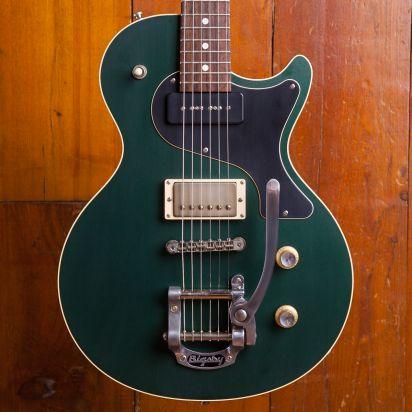 Nik Huber Krautster II Rosewood Fingerboard Cadillac Green W/Bigsby