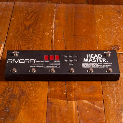 Rivera Headmaster midi foot pedal, black