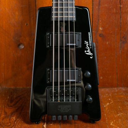 Steinberger XT-25 Standard outfit 5 string Hardwood Fingerboard Black