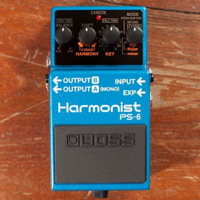 BOSS PS-6 Harmony Shifter