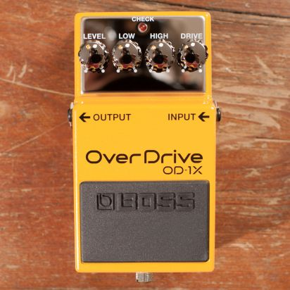 BOSS OD-1X Overdrive Waza Craft