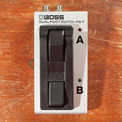 BOSS FS-7 Compact Dual Foot Switch