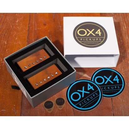 OX4 Humbucker Set Medium Output, Cream