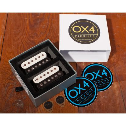 OX4 Humbucker Set Medium Output, Aged
