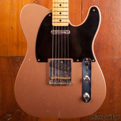 Fender CS 52 Telecaster Journeyman Relic Copper finish