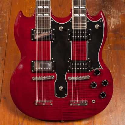 Epiphone Ltd Ed G-1275 Double Neck