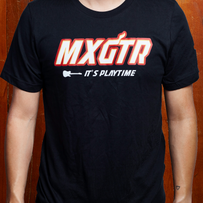 Max Guitar MXGTR T-shirt black small