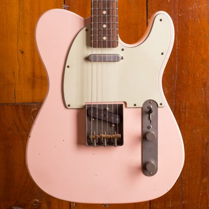 Nash T 63 Tele Shell Pink