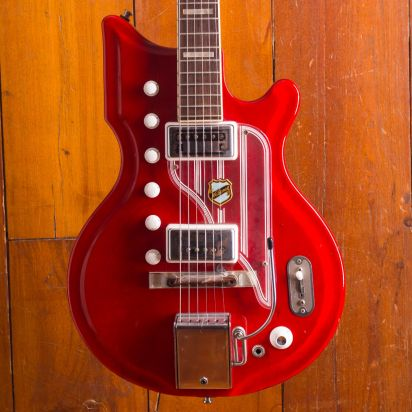 Vintage 1962 National Val Pro Westwood Cherry Finish
