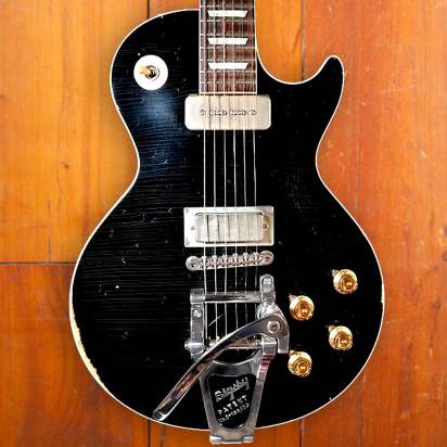 Gibson Custom M2M 1956 Les Paul Aged 'Old Black', Lightly Aged