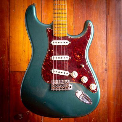 Fender CS LTD Roasted Tomatillo Stratocaster Journeyman - Aged Sherwood Green