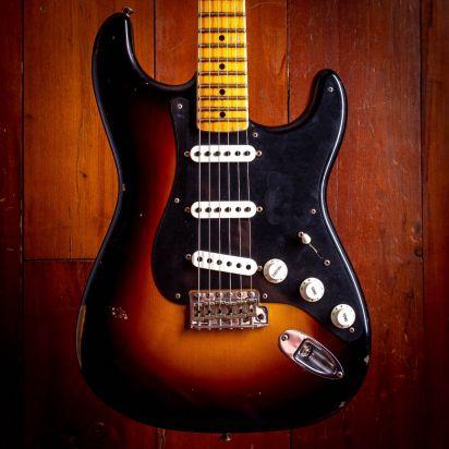 Fender CS NAMM Ancho Poblano Strat, 2-Color Sunburst