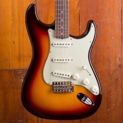Fender CS 1965 Stratocaster NOS Chocolate 3-Tone Sunburst