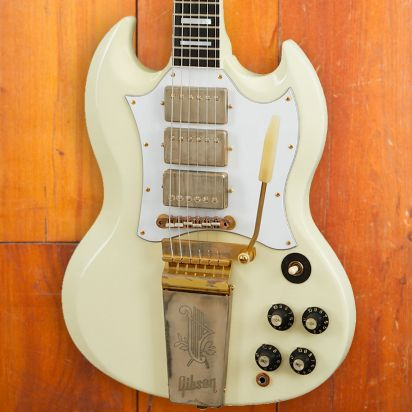 Gibson CS 1967 SG Custom Jimi Hendrix, Classic White
