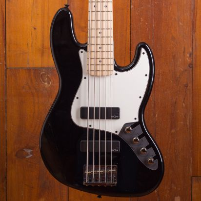 Squier Contemporary Active Jazz Bass V HH MF Black