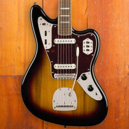 Squier Classic Vibe 1970s Jaguar, Laurel Fingerboard, 3-Tone-Sunburst