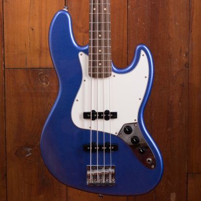 Squier Contemporary Jazz Bass LRL Ocean Blue Metallic
