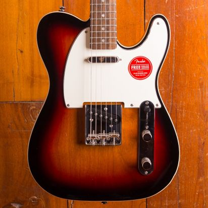 Squier CV 60S Custom Tele Laurel 3TS