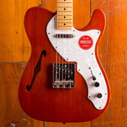 Squier CV 60S Tele Thinline Mn Natural