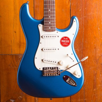 Squier CV 60S Strat Laurel Lake Placid Blue