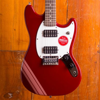 Squier LTD Bullet Mustang Competition Red