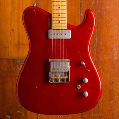 Tausch Guitars 665 Raw Candy Apple Red