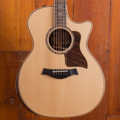 Taylor 814ce Deluxe V-class Bracing