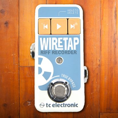 TC Electronic Wire Tap Riff Recorder