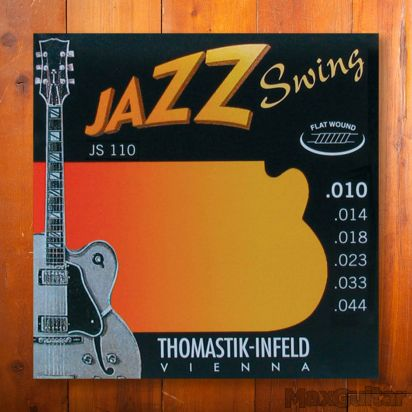 Thomastik Jazz Swing 110, Flatwound, Extra light, 010-044