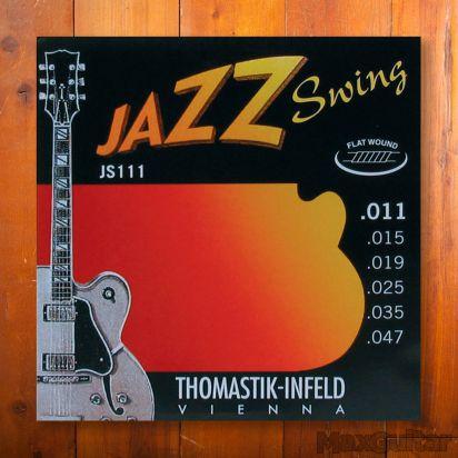 Thomastik Jazz Swing 111, Flatwound, Light, 011-047