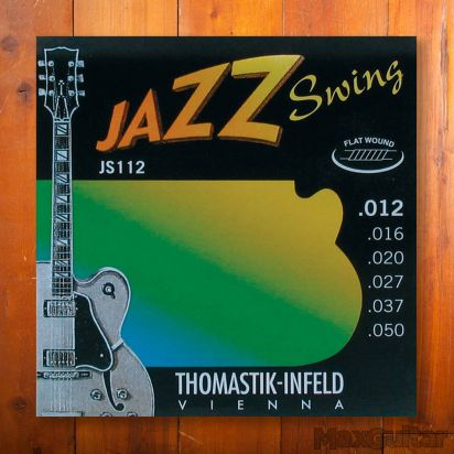 Thomastik Jazz Swing 112, Flatwound, Medium Light, 012-050