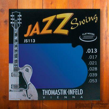 Thomastik Jazz Swing 113, Flatwound, Medium, 013-053