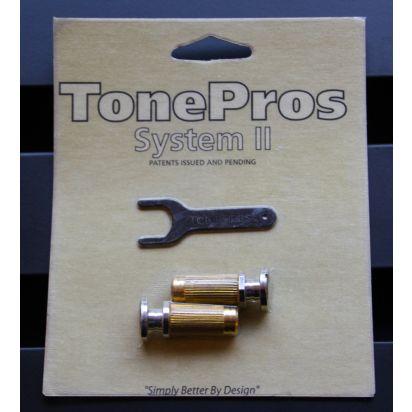 Tone Pro's Sprs2-Nkl Prs Lock Studs Nkl