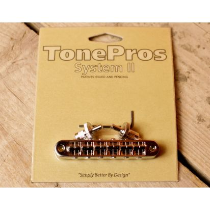 Tone Pro's T3Bp-C Us Bridge (Sml Posts Notch) Ch