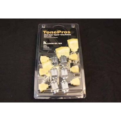Tone Pro's Tpk33-C 3X3 Push Bush Chrome