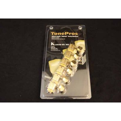 Tone Pro's Tpkf6B-G 6 In Line Bolt Bushing Gold