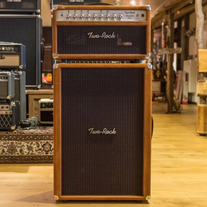 Two-Rock Bloomfield Drive 100/50 w Head + 212 Cab Golden Brown
