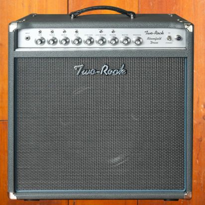Two-Rock Bloomfield Drive 100w Combo, Silver Anodized, Slate Gray