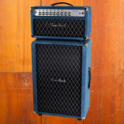 Two-Rock TS-1 100w Blue Suede Head & 2x12 Blue Suede Cab