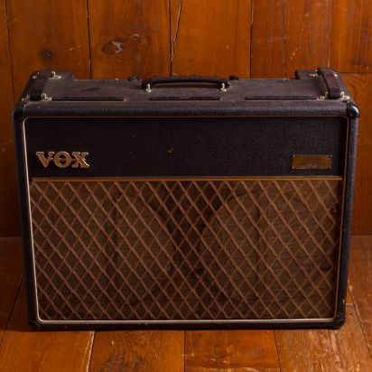Vox AC-30 JMI 1963 / Black Tolex, Grey Panel 30 Watt Tube Combo