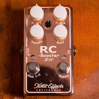 Xotic RC Booster Scott Henderson Copper