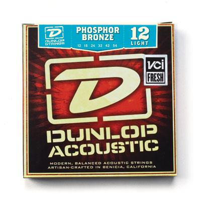 Dunlop DAP1254 snarenset voor akoestische western gitaar