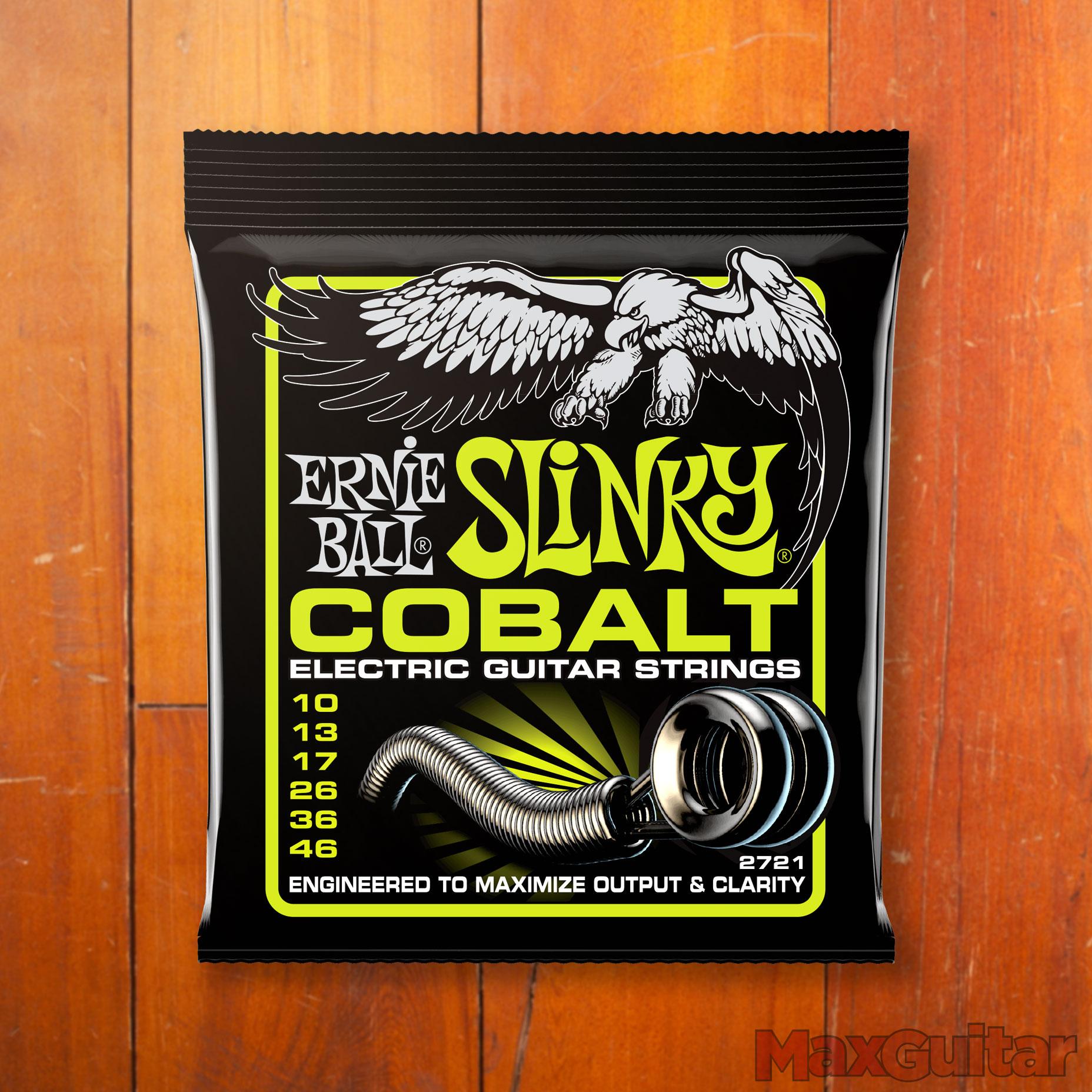 Ernie Ball 2721 Cobalt Regular Slinky elektrische gitaarsnaren