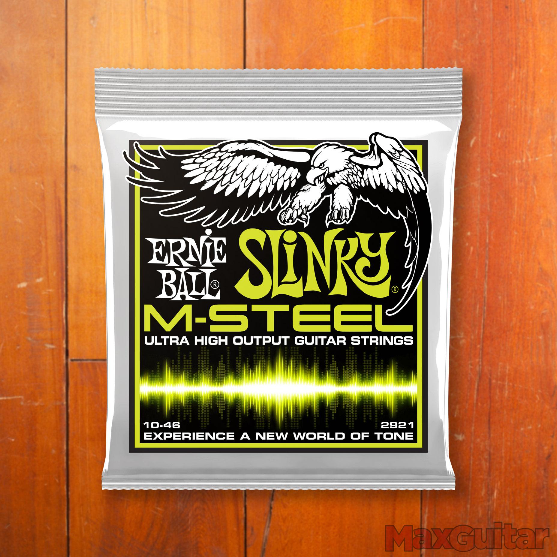 Ernie Ball M-Steel Regular Slinky 10-46