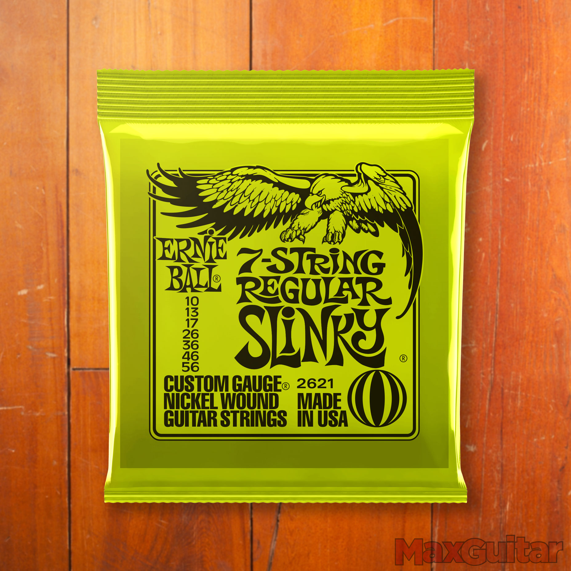 Ernie Ball 2621 7-String Regular Slinky snarenset