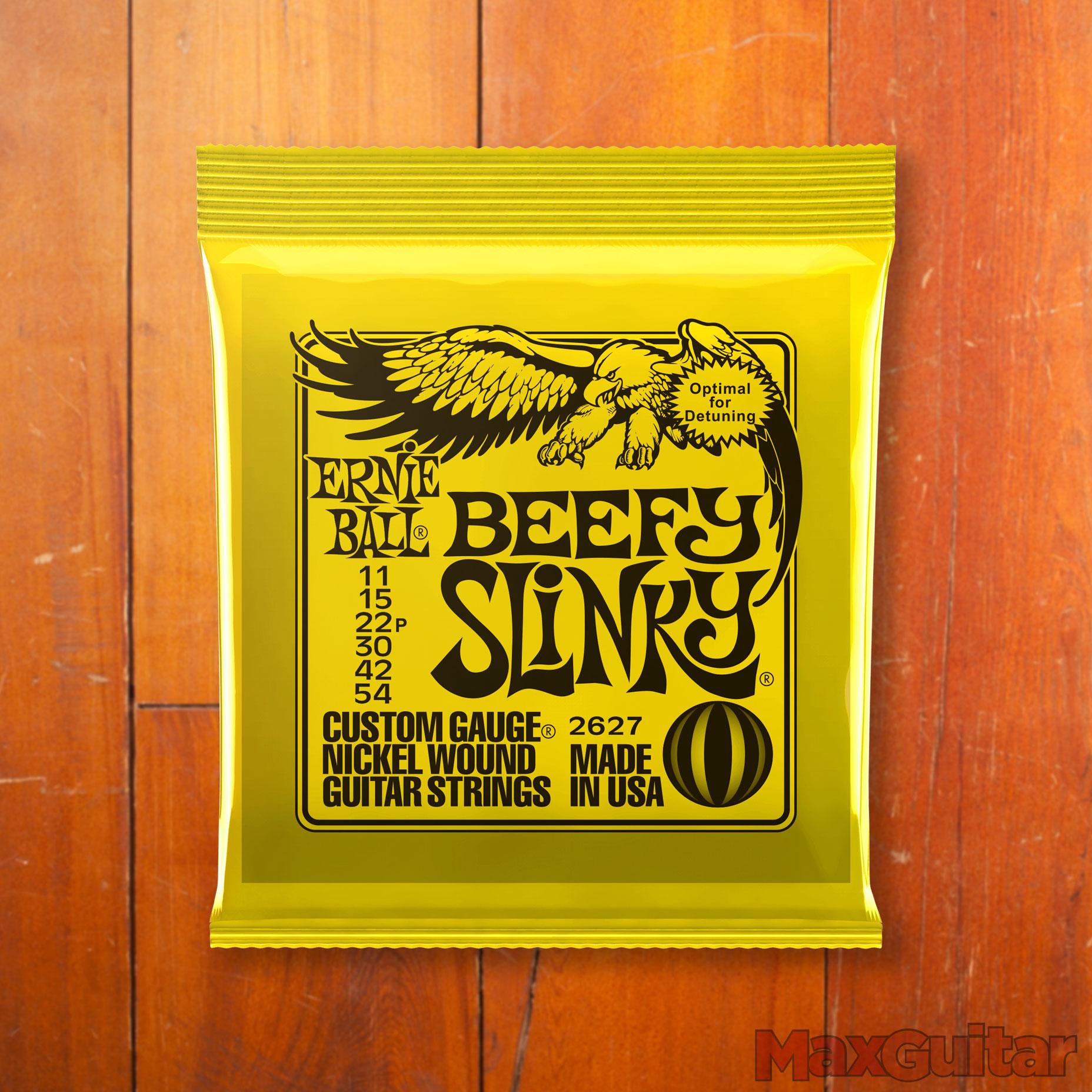 Ernie Ball 2627 Beefy Slinky snarenset voor elektrische gitaar