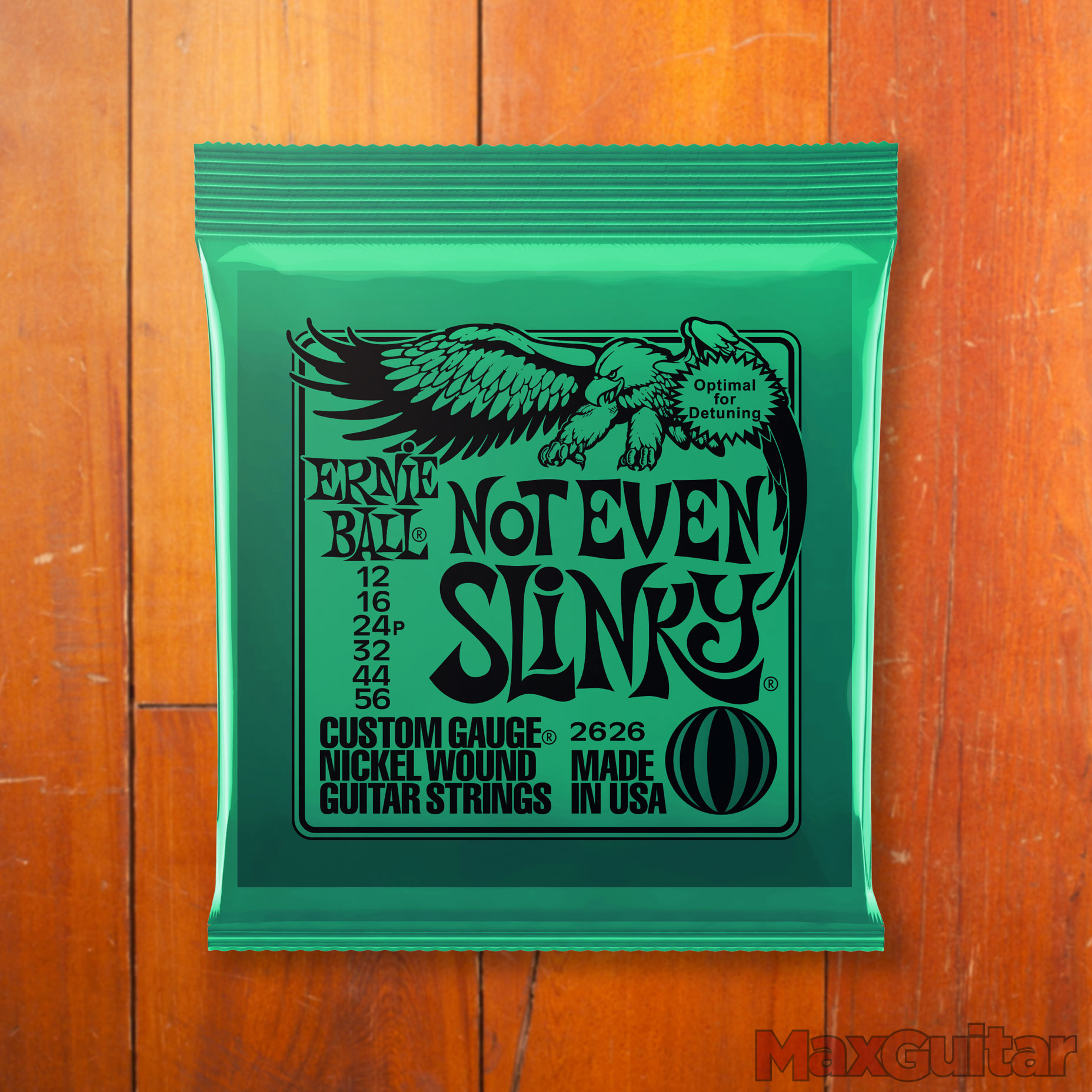 Ernie Ball 2626 Guitar Not even Slinky 012 056 Blue snarenset