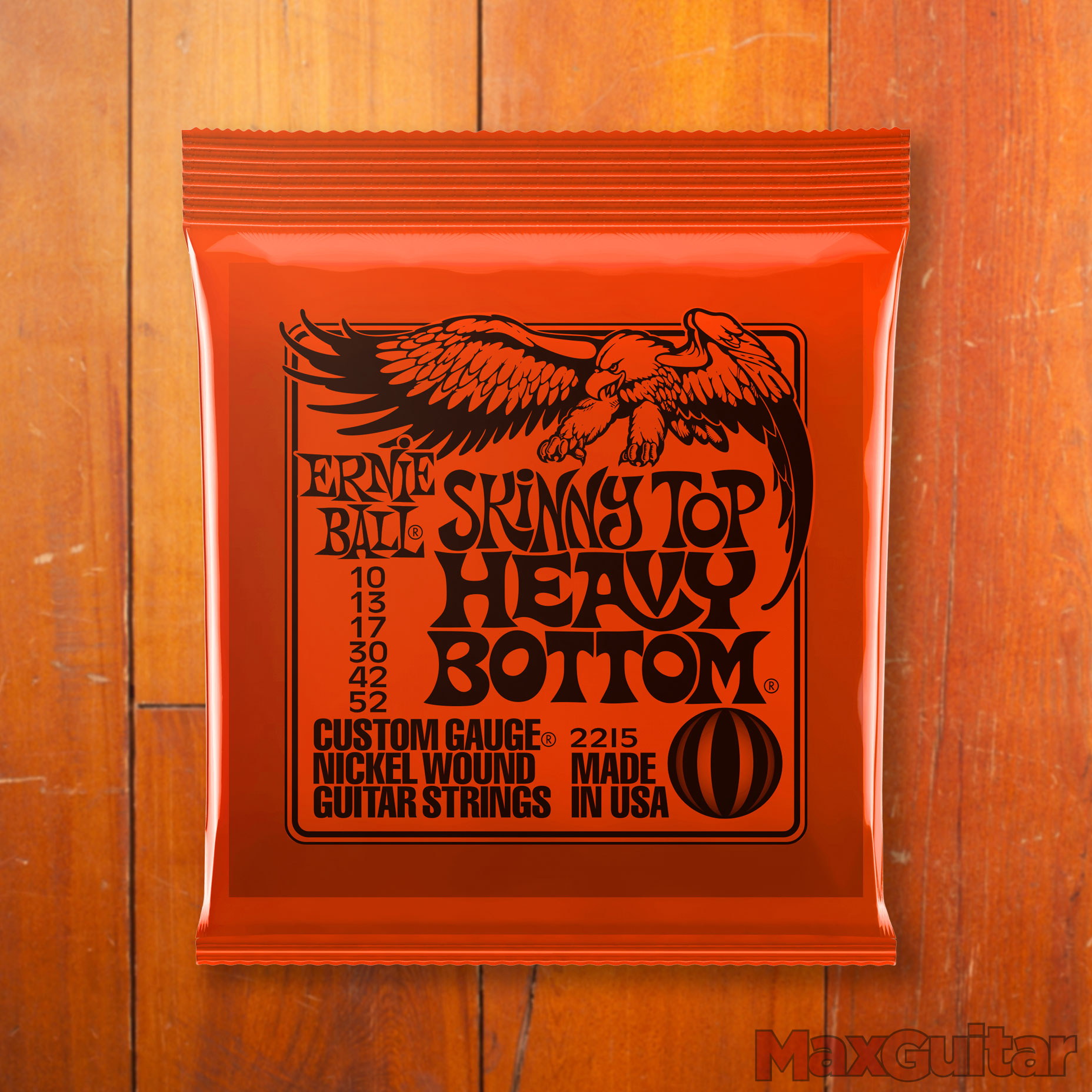 Ernie Ball 2215 Slinky top Heavy Bottom 010 052 snarenset