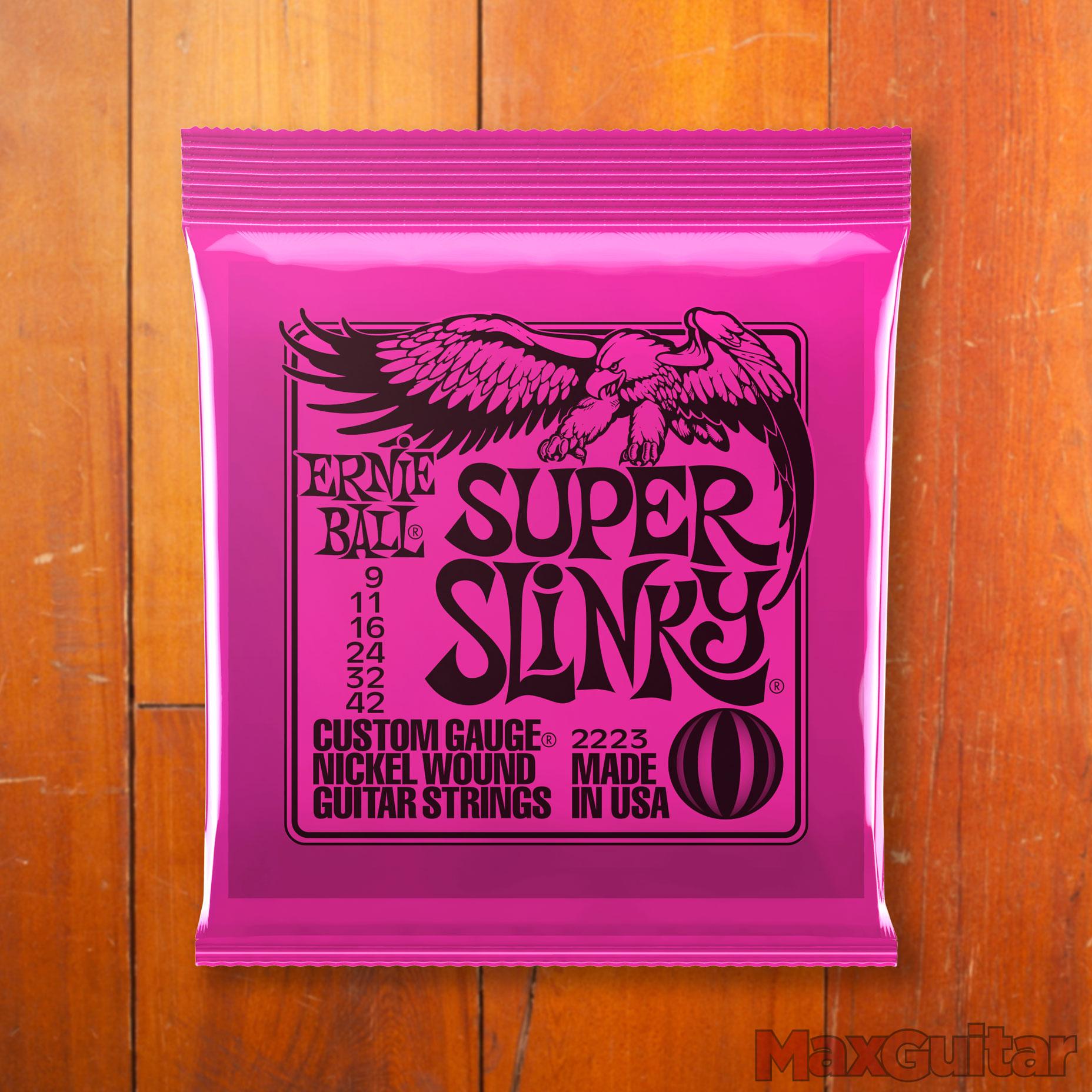 Ernie Ball 2223 Super Slinky snarenset voor elektrische gitaar